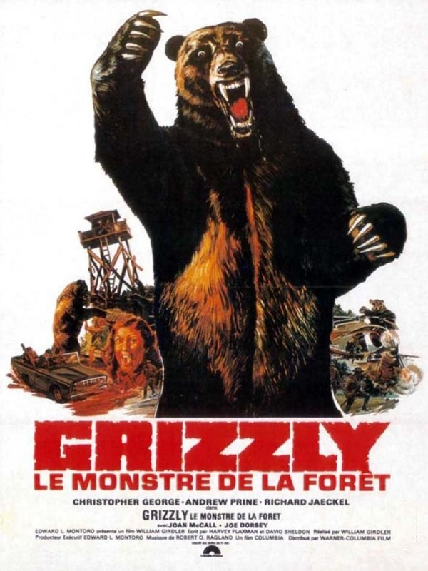 Grizzly, monstre de la Foret
